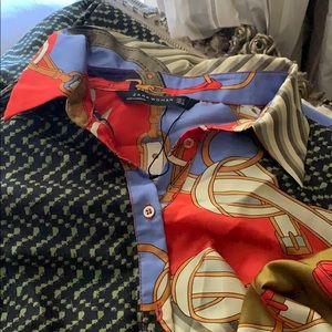 Zara ( brand New‼️ scarf style belted dress
